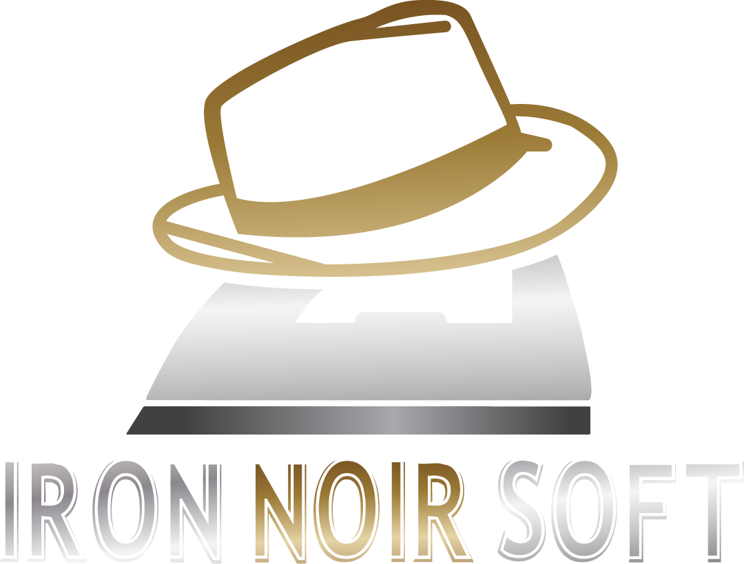 Iron Noir Soft logo